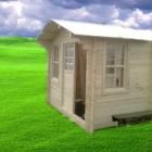 Casa de lemn Week-end 4x4m