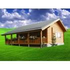 Casa de lemn Elisabeta 10x6m